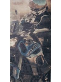 Komin Buffka Yamaha Super Tenere 1200 tło
