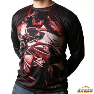 Koszulka termoaktywna z długim rękawem motocykl Suzuki Hayabusa