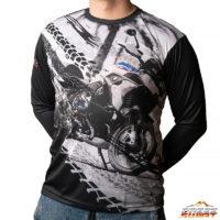 Koszulka termoaktywna z długim rękawem motocykl BMW GS 1250 HP