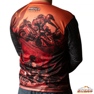 Koszulka termoaktywna z długim rękawem motocykl KTM 790