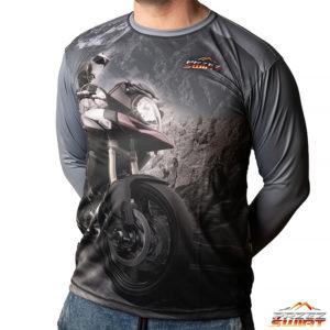 Koszulka termoaktywna z długim rękawem motocykl Suzuki V-storm DL650/ DL1000