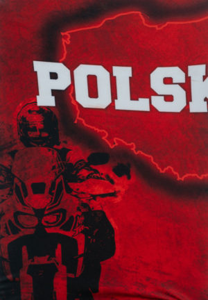 Bandana, komin nadruk motocyklowy Africa Twin Polska