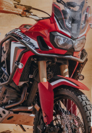 Honda Africa Twin CRF1000 tricolor
