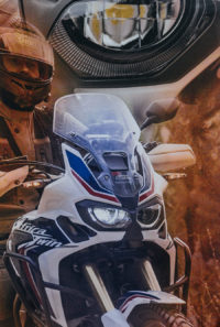 Bandana komin motocykl Africa Twin CRF 1000 tricolor