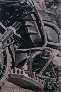 Bandana komin motocykl BMW GS1200 ADV