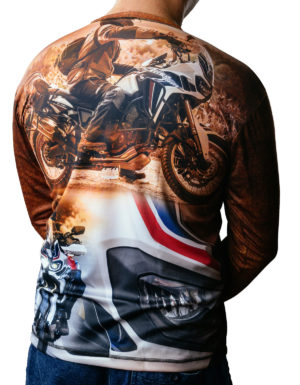 koszulka termoaktywna z długim rękawem HONDA AFRICA TWIN CRF1000