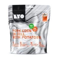 Żywność liofilizowana- Schab w sosie koperkowym z ziemniakami