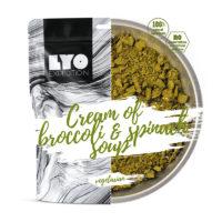 Żywność liofilizowana- Zupa krem szpianakowo brokułowy