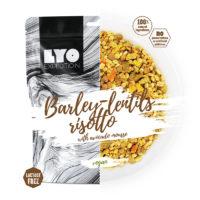 Żywność liofilizowana- RISOTTO Z PĘCZAKU I SOCZEWICY Z MUSEM Z AWOKADO