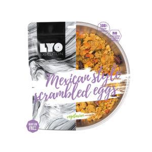 żywność lifilizowana jajecznica po meksykańsku